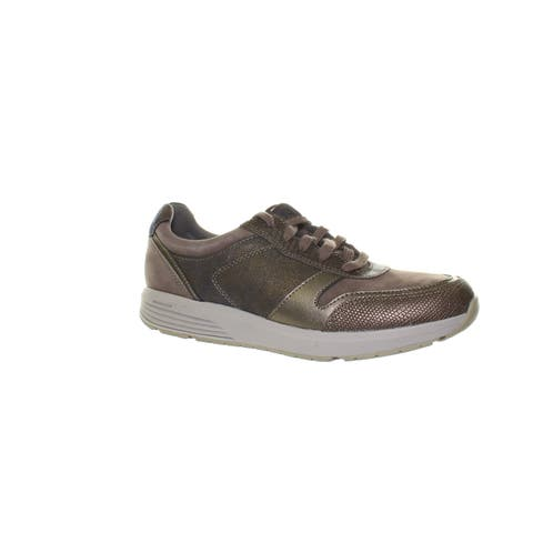 Rockport Womens Trustride Taupe Fashion Sneaker Size 7
