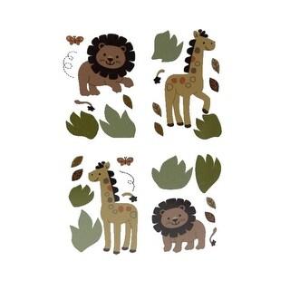"Babies""R""Us Wall Art Decal Lion/Giraffe Baby Boys"