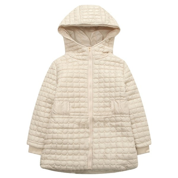066696cb2d91 Shop Richie House Girls  Padding Jacket with Hood - On Sale - Free ...