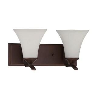 Craftmade 38202 Arabella 2 Light Bathroom Vanity Light - 15 Inches Wide