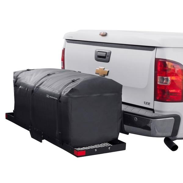 Winterial Rear Cargo Hitch Tray Bag / Expandable / Road Trip / Waterproof / Weatherproof / Rain / Snow / Dirt