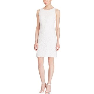 American Living Womens Cocktail Dress Lace Sleeveless
