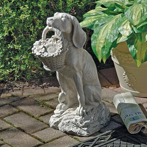 Mans Best Friend Dog Statue