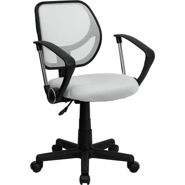 Shop Boswell Low-Back White Mesh Swivel Home/Office Task
