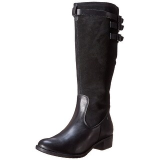 Hush Puppies Black Women's Shoes Size 6M Leslie Chamber Boot