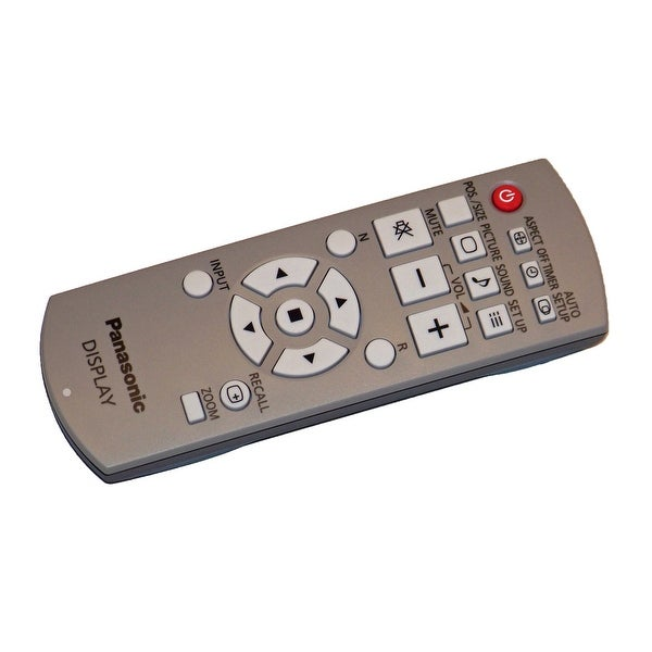 OEM Panasonic Remote Control Originally Supplied with: TH42PH20, TH42PH20U, TH42PH30U, TH47LF20, TH47LF20U