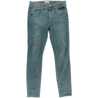 Paige Womens Hoxton Denim Skinny Jeans