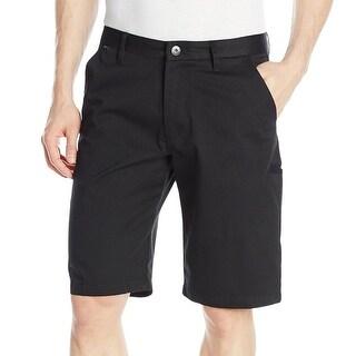 Fox NEW Deep Essex Men's Black Size 28x11 Button-Front Khakis Shorts