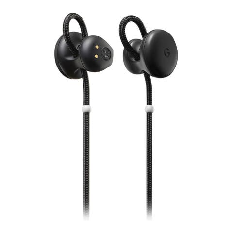 Google Pixel Bluetooth Wireless Earbuds with Charging Case (Black)