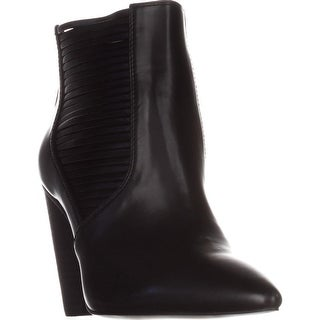 BCBGeneration Alexis Strappy Ankle Boots, Black