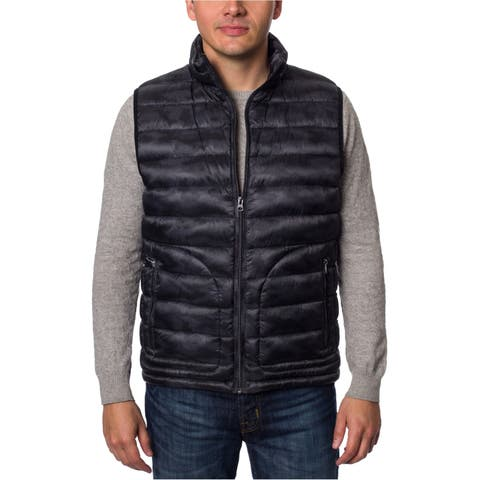 Buffalo David Bitton Mens Quilted Down Vest