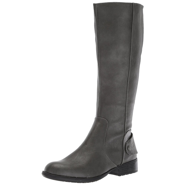 LifeStride Womens Xandy WC Fabric Round Toe Knee High Fashion Boots