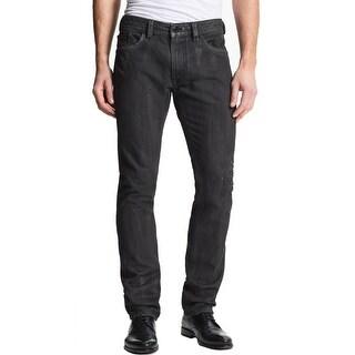 Diesel Thavar Jeans 31 x 32 Black Limited Edition Slim Skinny Distressed