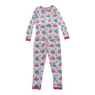 Hasbro Girls White My Little Pony Short Sleeve 2 Pcs Pajama Set