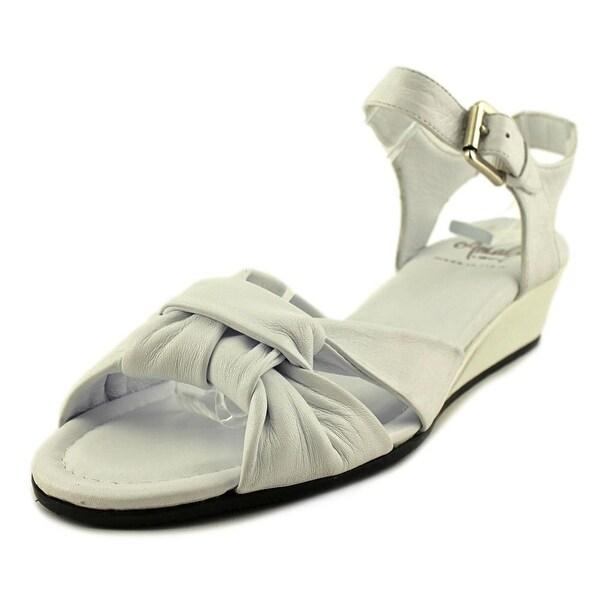 Amalfi By Rangoni Mandy Women N/S Open Toe Leather Sandals