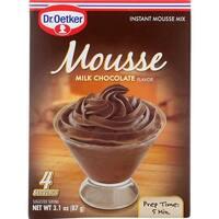 Dr. Oetker Organics - Milk Chocolate Mousse Mix ( 3 - 3.1 OZ)