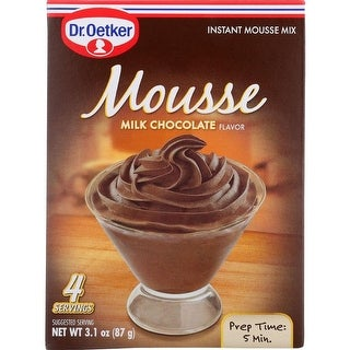 Dr. Oetker Organics - Milk Chocolate Mousse Mix ( 3 - 3.1 OZ)