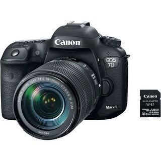 Canon EOS 7D Mark II DSLR Camera w/ 18-135mm f/3.5-5.6 IS USM Lens (International Model)