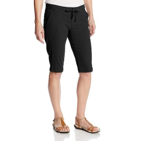 Columbia Jet Black Womens Size 4 Bermuda Outdoor Walking Shorts