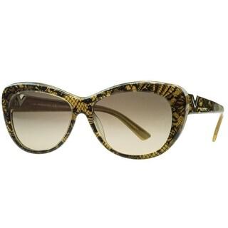 Valentino V628/S 712 Gold Pearl Cateye Sunglasses