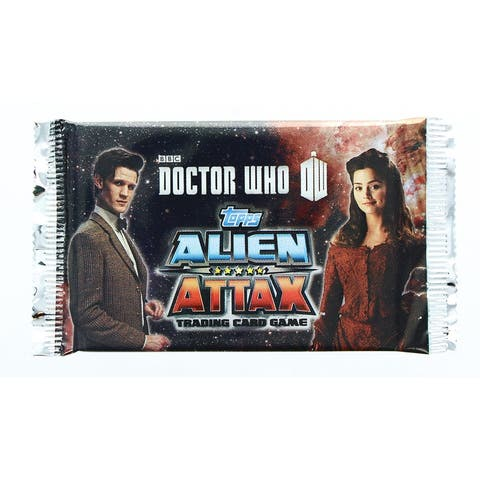 Doctor Who Alien Attax Booster Pack Trading Card Game - Multi