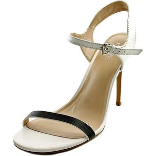 Charles By Charles David Reverse Open Toe Leather Sandals