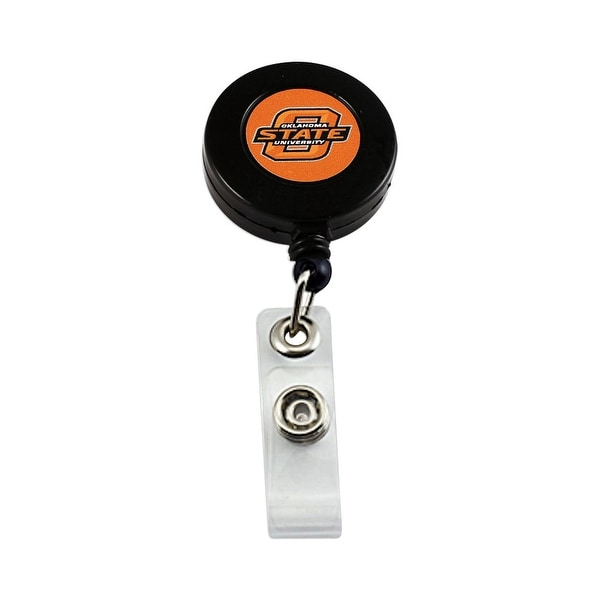 Oklahoma State Cowboys Retractable Badge Reel Id Ticket Clip NCAA