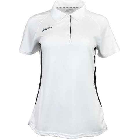 Asics Womens Corp Athletic Polo