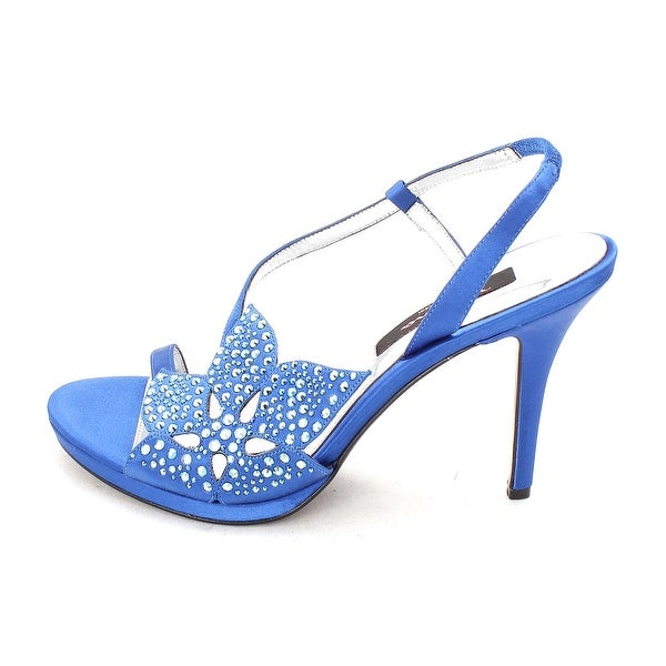 Nina Womens Rosine Open Toe Ankle Strap D-orsay Pumps