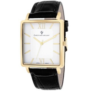 Christian Van Sant Men's Monte Cristo CV8512 White Dial Watch