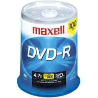 Maxell 638014 4.7Gb 120-Minute Dvd-Rs (100-Ct)