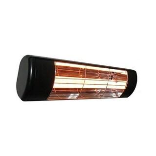 Sunheat 901115120 1500W 120V Outdoor Weatherproof Electric Wall Mounted Heater - Black