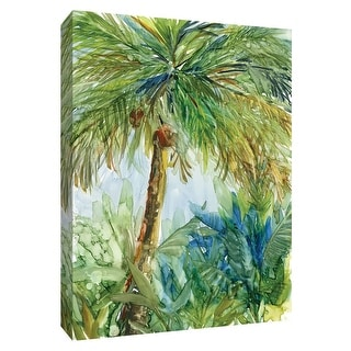 "PTM Images 9-148742  PTM Canvas Collection 10"" x 8"" - ""Vintage Palm"" Giclee Palm Trees Art Print on Canvas"