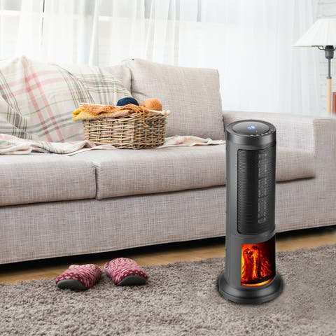 Ainfox Electric Space Heater with Remote Control