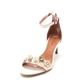 aa4e762fac209 Coach Womens Tea Rose Mule Open Toe Casual Ankle Strap Sandals - 9
