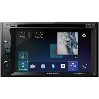 "Pioneer(R) AVH-500EX 6.2"" Double-DIN In-Dash DVD Receiver with Bluetooth(R) & SiriusXM(R) Ready"