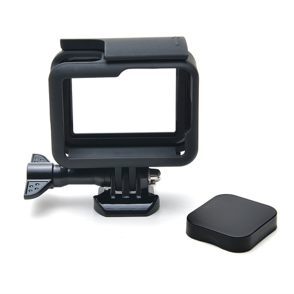Protective Case Shell Frame Lens Cap Cover Tempered Glass Screen Protector for GoPro Hero 5