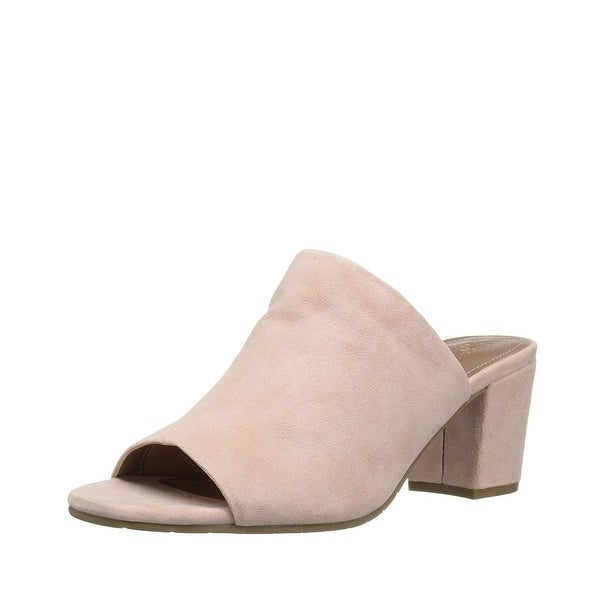 Kenneth Cole Reaction Womens Mass-Ter Mind Mules Sandals Rose - 9.5 b(m)