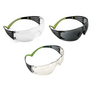 3M SF400-W-3PK Secure-Fit 400 Anti-Fog Eye Protection Glasses, set of 3