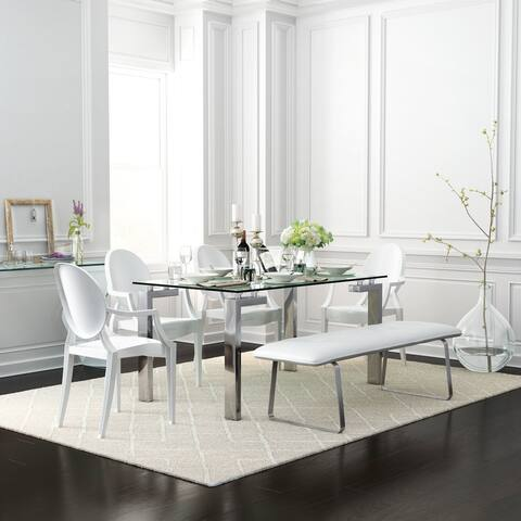 Anime Dining Chair (Set of 4) White