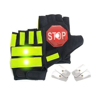 Brite Strike Lighted LED Large/Extra LargeTraffic Safety Gloves