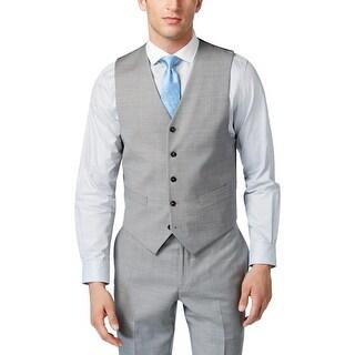 Tommy Hilfiger Mens Hayes Suit Vest Suit Seperates Modern Fit