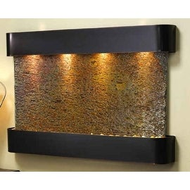 Adagio SSR1504 Sunrise Springs - Rajah Natural Slate Wall Fountain