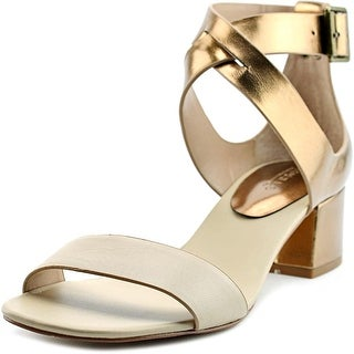 Charles By Charles David Glam Women Open Toe Synthetic Bronze Sandals