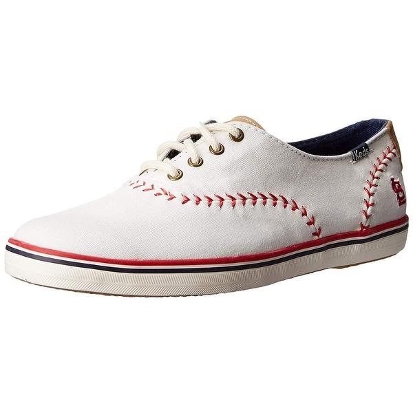 2198fd7f4a8299 Shop Keds Women s Champion MLB Pennant Baseball Fashion Sneaker ...