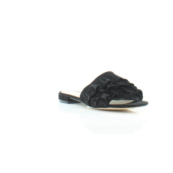 Nine West Ivarene Women's Sandals & Flip Flops Blk/Blk - 6.5