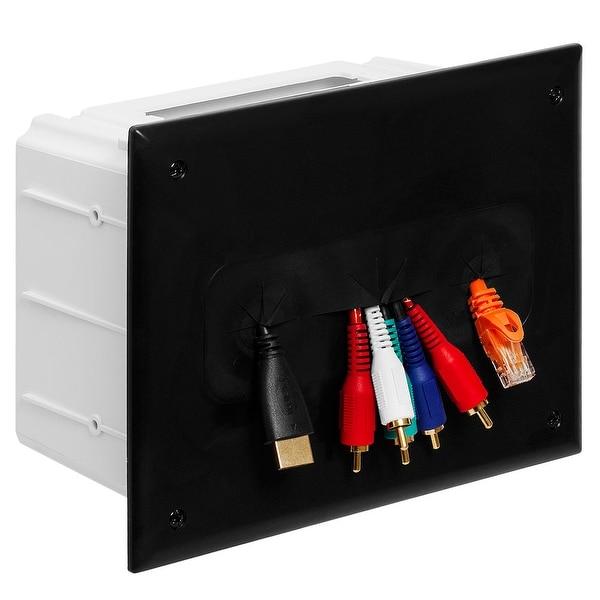 DataComm 45-0010-BK Recessed Media Box - Black