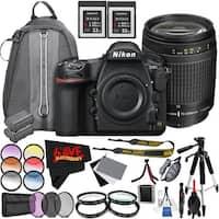 Nikon D850 DSLR Camera (Body Only) 1585 International Model + Nikon AF Zoom-NIKKOR 70-300mm f/4-5.6G Lens Bundle