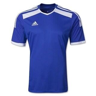 Adidas Women's Regista 14 Jersey T-Shirt Cobalt/White - Blue