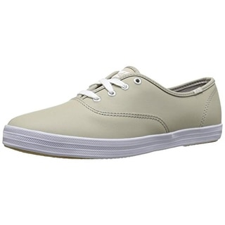 Keds Womens Fashion Sneakers Leather Contrast Trim